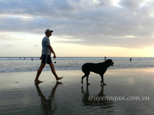 Đàn ông và chó
