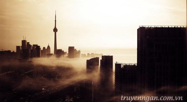 lang thang trong thành phố