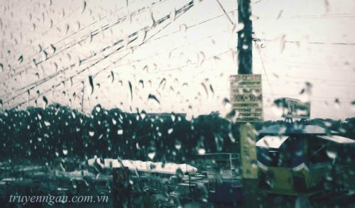 Chiều nay mưa