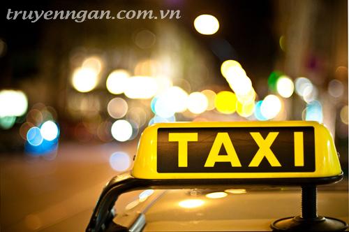 tôi nhận thêm việc lái taxi buổi đêm